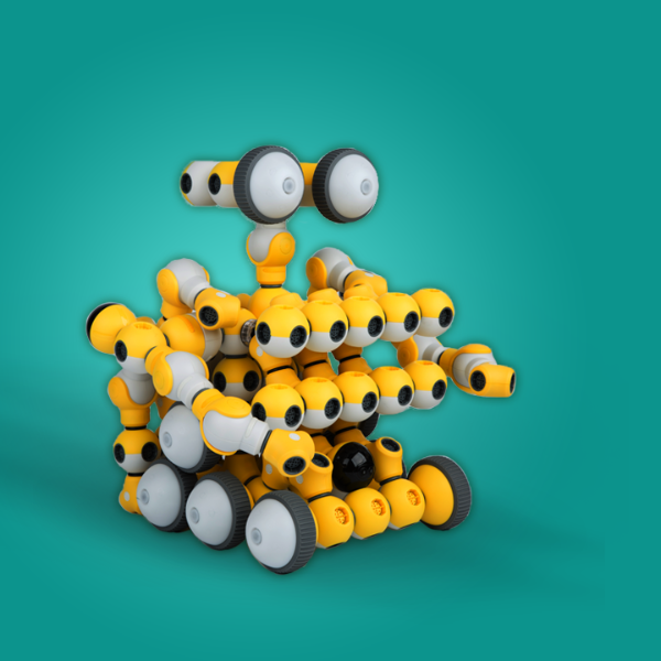 STEAM Education Coding and Block Robot